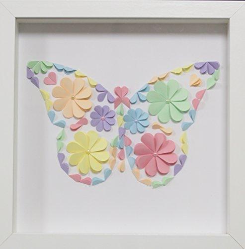 Cuadro Mariposas, decoración infantil.
