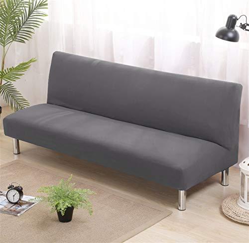 kengbi Funda de sofá duradera y fácil de limpiar, funda de sofá plegable universal sin brazos para sofá cama, funda de asiento plegable moderna y elástica para sofá barato