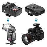 Flash Trigger, Wireless Flash Trigger Set Transmitter, 1 Set for Canon Nikon...