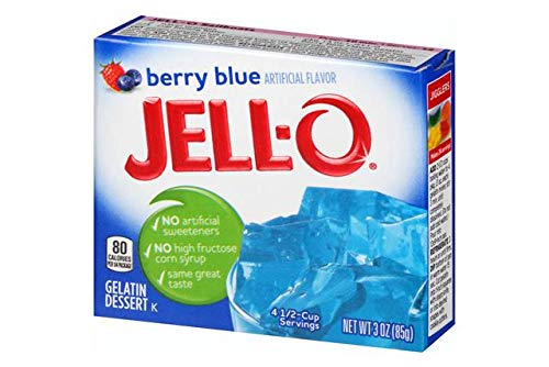 JELL-O Berry Blue 3oz (85g)