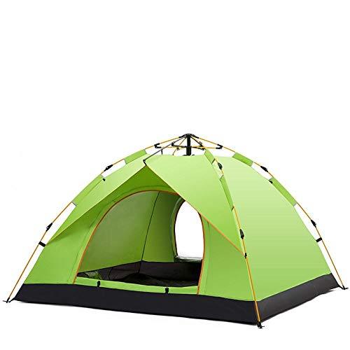 llv al aire libre lleno tienda automática 2 personas 3 personas al aire libre ocio familia camping impermeable tienda
