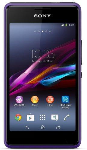 Sony Xperia E1 - Smartphone Libre Android (Pantalla 4', cámara 3 MP, 4 GB, Dual-Core 1.2 GHz, 512 MB RAM), Negro