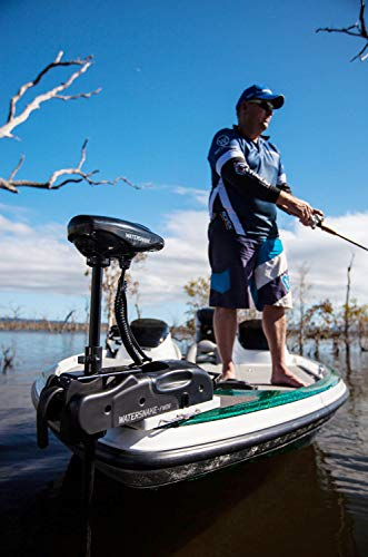 Mount the Watersnake trolling motor in the bowrider
