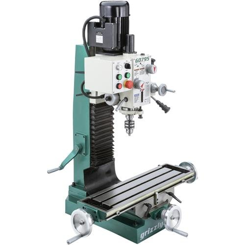 Grizzly G0795 Heavy Duty Benchtop Mill/Drill