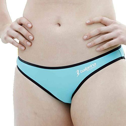 Beachvolleyball Bikini-Hose Sandpant Low, Karibik-schwarz (S)