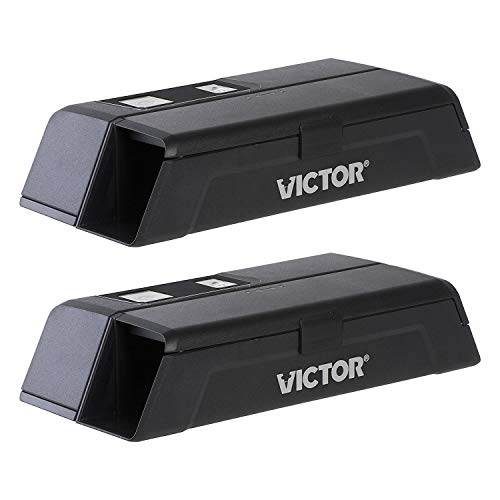 Victor M1-2P M1 Smart-Kill Wi-Fi Electronic Mouse Trap-2 Pack,Black