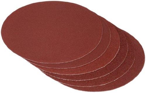 Cartrend 30132 Schleifpapier 6er-Set, je 2x Körnung 60/80/120, max. 175 mm Durchmesser