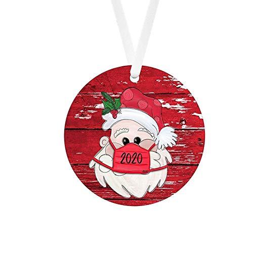 Decoraciones para el hogar, 2020 Navidad colgante ornamento Santa hogar decorar el árbol de Navidad decoración del hogar accesorios decoración del hogar sala de estar