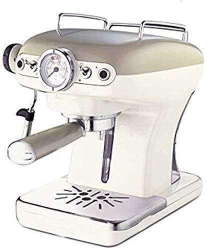 Jsmhh Macchine da caffè Macchina da caffè, Macchina Espresso delle Famiglie semiautomatico Macchina da caffè Pompa di Tipo Macchina da caffè Portable