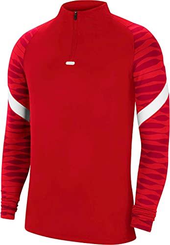 NIKE Camiseta de Manga Larga Unisex para niños Strke21 Dril Top, Unisex niños, CW5860-657, University Red/Gym Red/White/White, 12-13 Años
