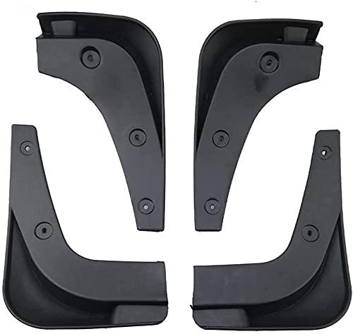 4pcs Coche Faldillas Antibarro para Sportage R 11-17, Delantero Trasero Salpicaduras Mud Flaps Resistentes Desgaste Protección Accessories