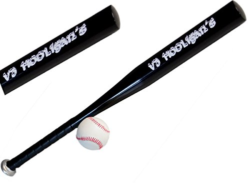 V3 Hooligans Baseball-Schläger Sport-Schläger 28inch 73cm Schwarz Ausrüstung Alu-Minium America Home-Run Squad Hooligan Base-Ball Selbst-Verteidigung Steel Profi Bat-on Harley