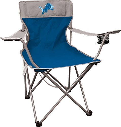 Rawlings NFL Portable Canvas Folding Kickoff Chair with Cup Holder and Carrying...