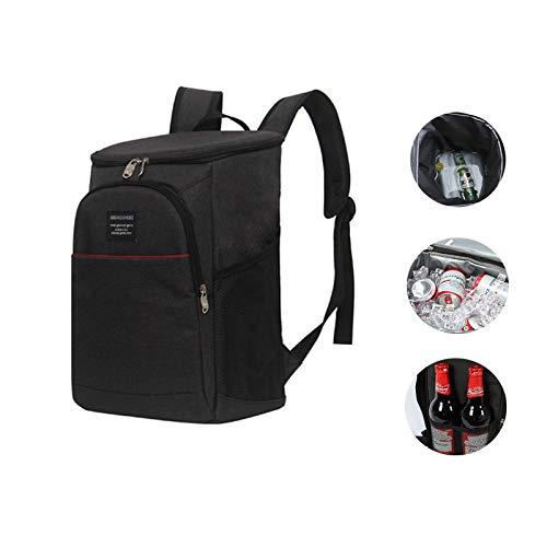 Bolsa de almuerzo Cybill, bolsa de almuerzo aislada, bolsa de picnic, bolsa de entrega de comida portátil para fiesta' picnic' playa, para mantener la comida caliente' fría transportada, 17 litros