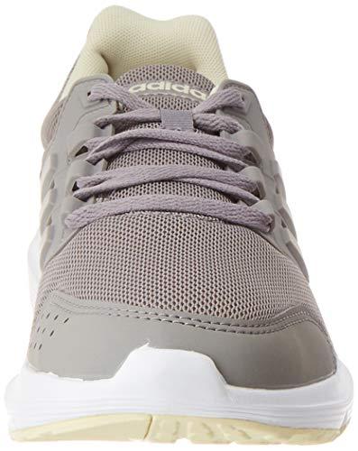 adidas Galaxy 4, Running Shoe Mujer, Dove Grey/Dove Grey/Sand, 36 2/3 EU