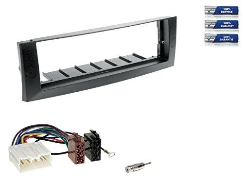 Baseline Connect Kit complet d'installation d'autoradio 1-DIN pour Mitsubishi Colt (PRE-Facelift) à partir de 2004 Noir