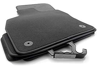 kh Teile Fußmatten passend für A3 8V Premium Qualität Autoteppiche Velours anthrazit 4  teilig