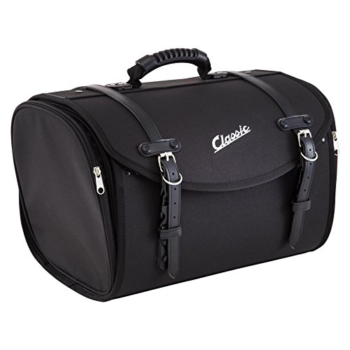 Tasche/Koffer SIP groß, für Gepäckträger, 480x300x270mm, ca. 35 Liter, Nylon, schwarz,