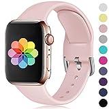 HUMENN Compatible avec Apple Watch Bracelet 38mm 42mm 40mm 44m, Sport en Silicone...