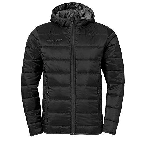 uhlsport Kinder Essential Ultra Lite Jacke, Schwarz/Anthrazit, 152