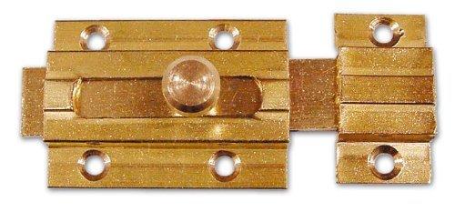 Boulon transversal laiton poli 100 mm Art 519 cf. 25 Pcs