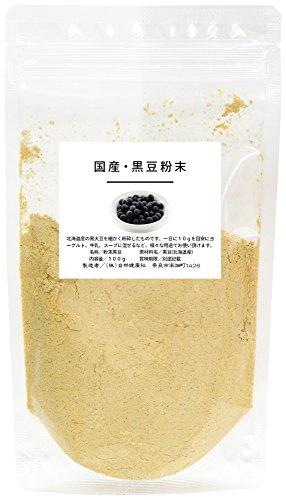 自然健康社『黒豆粉末』