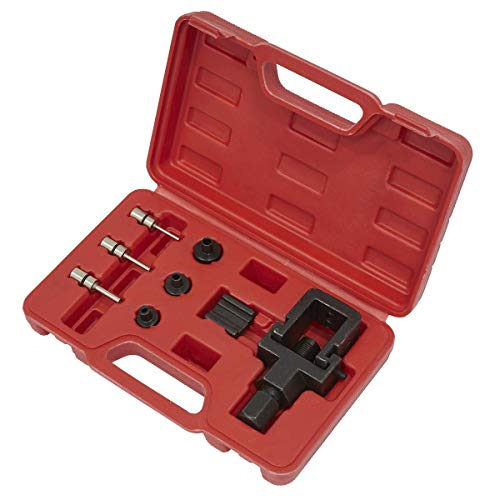 Sealey SMC4 Heavy-Duty Motorfiets Ketting Splitter & Riveting Tool Set