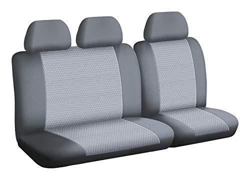 Housse de siège Auto/Utilitaire - sur Mesure - Montage Rapide - Compatible Airbag - Isofix - 1011738