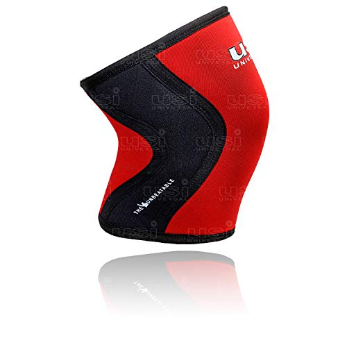USI Universal KS7 Knee Sleeves Support for Fitness, Cross Traning, Knee Injury (KS7_M)