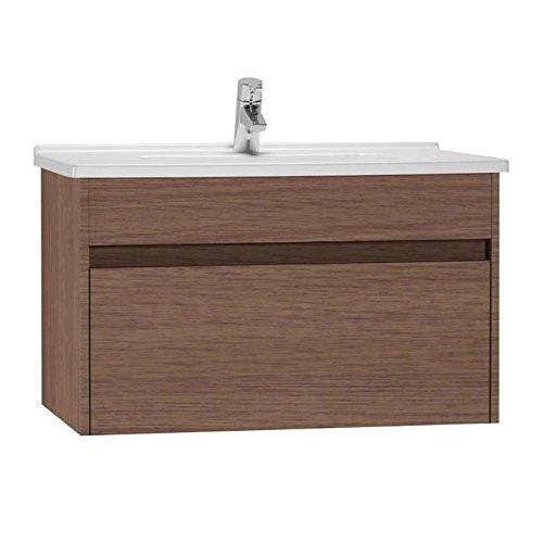 Vitra S50 54740 Waschkommode mit Schublade und Waschbecken, 80 cm, Eiche