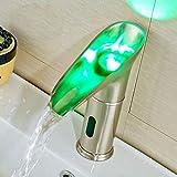 Risparmio Idrico Lampada A Led Per Lavabo Con Rubinetto Automatico Per Bagno Con Rubinetto Per Sensore