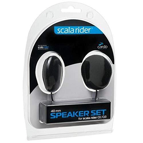 Cardo System Inc 40mm Speaker Kit for All Communication System Helmet Accessories
