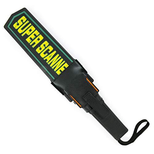[] Aumenta la sicurezza: utilizzare questo scanner di sicurezza palmare ovunque - eventi interni o esterni, scuole, mense per la sicurezza alimentare, eventi sportivi o ovunque sia necessario il rilevamento di metallo affidabile. [ALTA SENSIBILITA]: ...