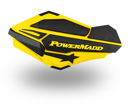 PowerMadd 34406 Yellow/Black Handguards