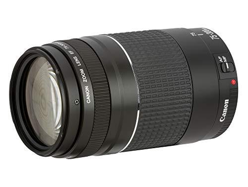 Canon 6473A015   Teleobjetivo para cámara EOS Lens/EF 75 300 mm 1:4 5.6 III