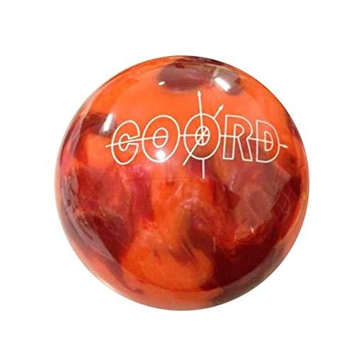 Bowl Bowling-Ball Orange Bowling-Kugel für Einsteiger und Profis 9-12pounds,12lbs