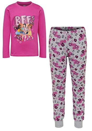 Lego Wear Mädchen Schlafanzug Pyjama Lego Friends BFF CM-50443 (134)