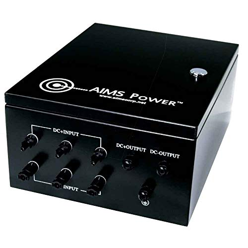 AIMS Power COM3IN60A Solar Array Combiner Box, 60A 200VDC 3 Strings 10KW, Prewired, 1000V DC Max Input, 125A Resettable Output Breaker, Diode Protected, MC4 Input and Out Connections