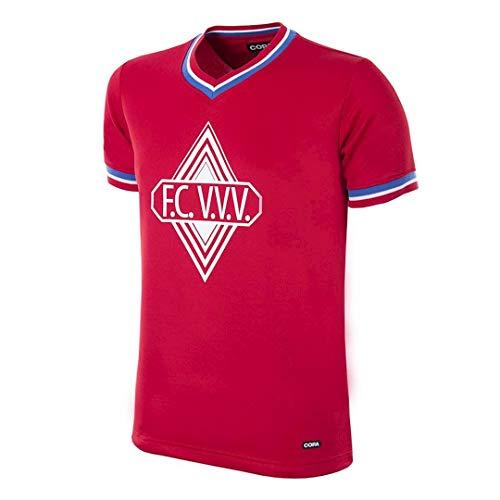 copa Heren Fc Vvv 1978-79 Retro Voetbal V-hals T-Shirt