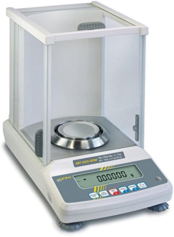 Analysenwaage mit Eichzulassung [Kern ABT 100-5M] Das Premium-Modell mit Single-Cell-Wägesystem, Wägebereich [Max]  101 g, Ablesbarkeit [d]  0,01 g, Reproduzierbarkeit  0,05 g, Linearität  0,15 g B00VM4ZXIM | Feinbearbeitung