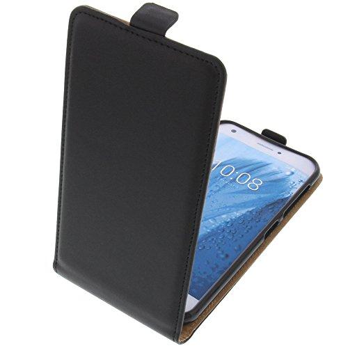 foto-kontor Tasche für ZTE Blade A512 Smartphone Flipstyle Schutz Hülle schwarz