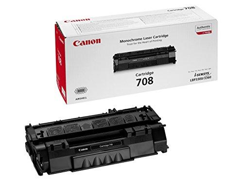 Canon 0266B002 708 Tonerkartusche schwarz 2.500 Seiten