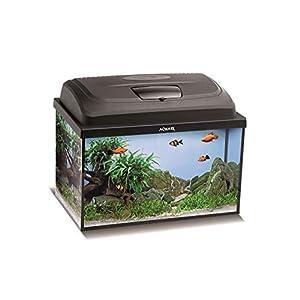 Aquael-Aquarium-Set-Classic-LT-inkl-Abdeckung-Filter-Heizer-LED-Beleuchtung