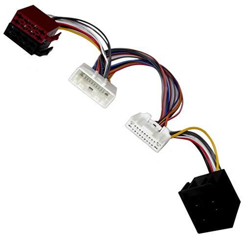 Aerzetix: Câble - Faisceau - Autoradio - pour - Parrot KML - Kit Mains Libres - pour - Auto - Voiture - C12400
