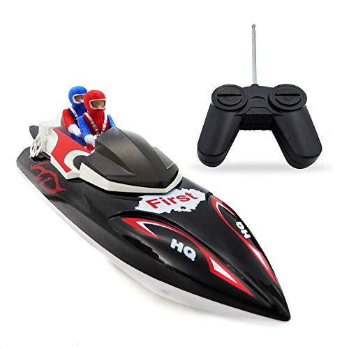 SSBH Las piscinas de verano regalo juguete Mini Moto acuática manía modelo de competición del juguete de la nave for exterior mini mando a distancia la velocidad del barco de juguete eléctrico