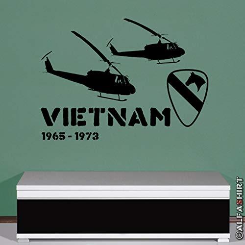 Vietnam 1965 1973 Militär Hubschrauber Helikopter Bell Wandtattoo 45x61cm #5833