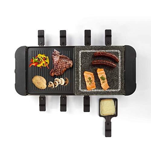 Livoo - Appareil à raclette 8 personnes DOC222 Noir