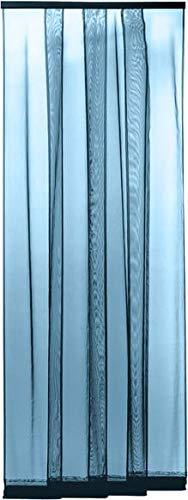 120x250cm Marrone THAIKER Zanzariera Finestra Zanzariere Prezzi Chiudi Automaticamente Ultra Silenzioso per Porte dIngressoPorte Cortili 47x98inch