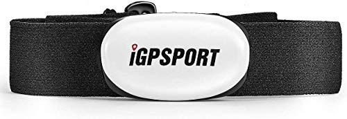 iGPSPORT HR35 Cardiofréquencemètres capteur pour Tracker de Conditionnement Physique, Support Bluetooth & Ant + (Doux Ceintures pectorales)