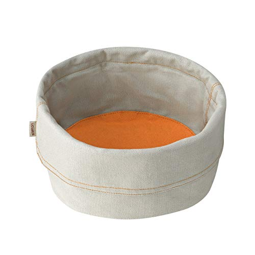 Stelton, Gross-beige/Safran Brottasche, Aluminium und gebrannte, 24 x 8.5 x 18 cm